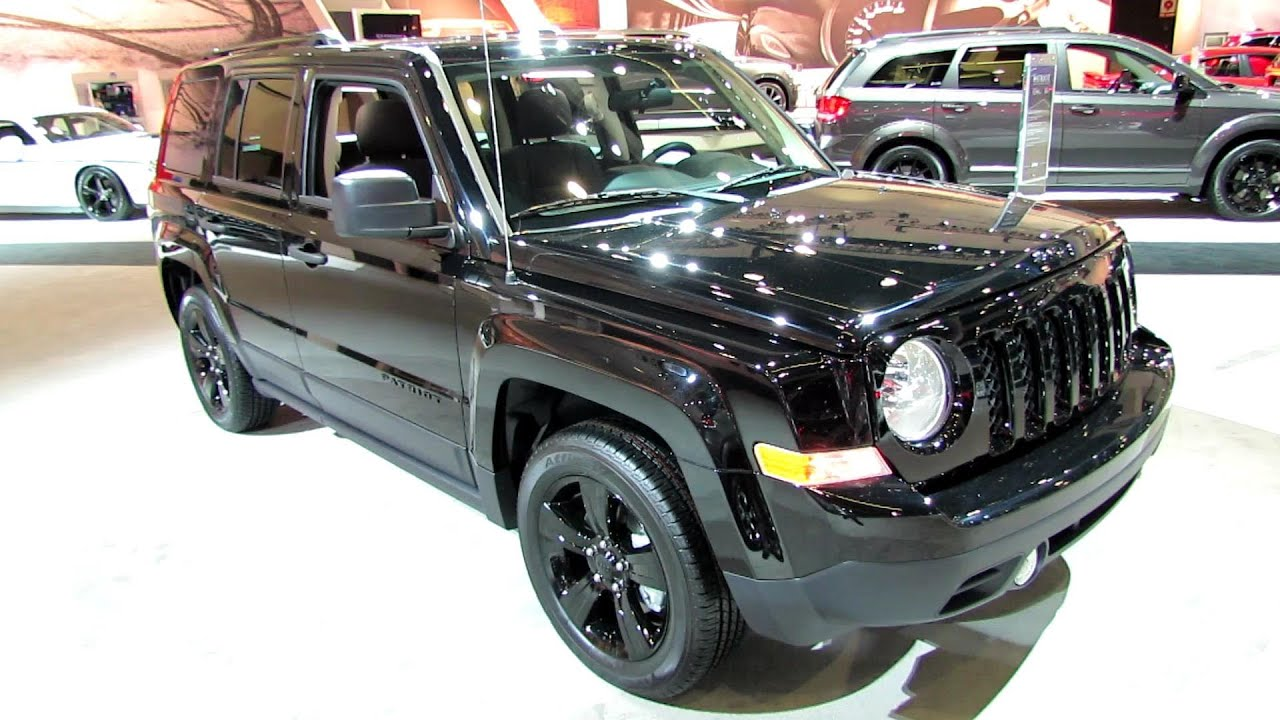 2014 Jeep Patriot Altitude   Exterior And Interior Walkaround   2013 LA  Auto Show   YouTube