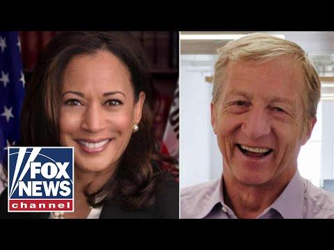 Sen. Kamala Harris, Tom Steyer sent suspicious packages
