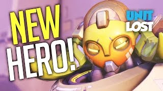 Overwatch - ORISA GAMEPLAY!! NEW HERO!!