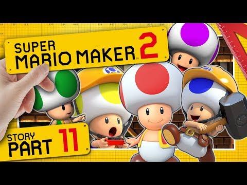 Die große Toad Extraktion 👷 SUPER MARIO MAKER 2 #11