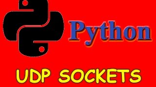 Python UDP networking | Sending and receiving data | UDP sockets in Python