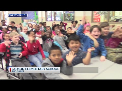 Rob Fowler visits the 2nd grade at Ladson Elementary School for 2019
