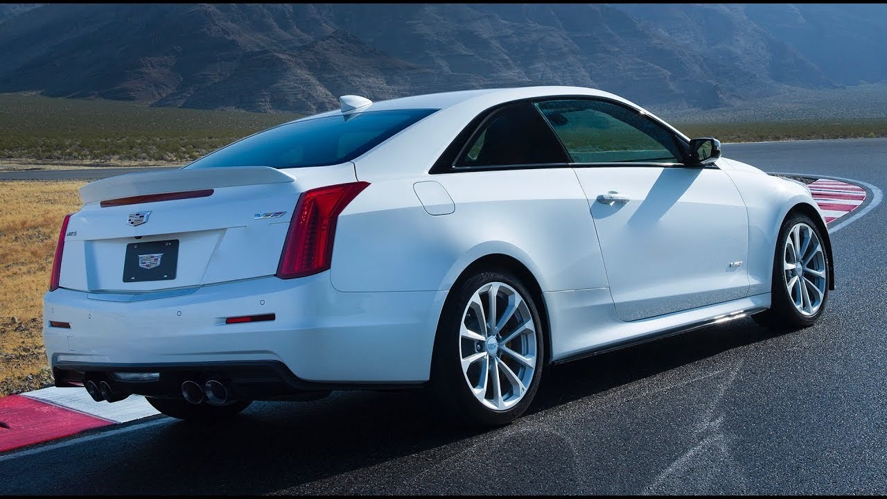 2018 Cadillac ATS-V Review - YouTube