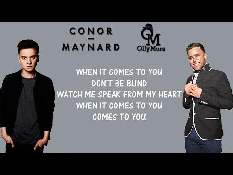 Conor Maynard, Olly murs - 2U (Lyrics) David Guetta Ft. Justin Bieber mashup cover Mp3