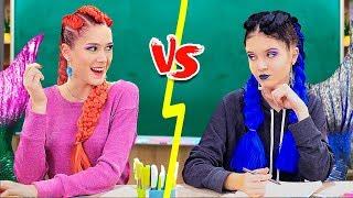 9 Kreasi Perlengkapan Sekolah Putri Duyung Baik vs Putri Duyung Jahat