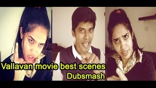 Arun & Sanjana Real Couple _ Vallavan movie best scenes _HD Tamil Dubsmash