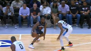Baron Davis Tells You He Can Be Better Than The NBA Players&Toying Defender Too Easy At BIG3!