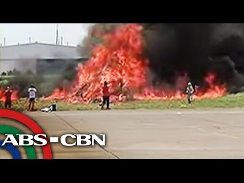 Davao airport conduct drills for aircraft emergencies