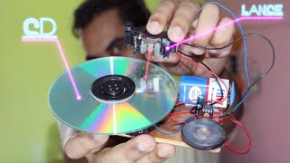 how to make music cd player at home