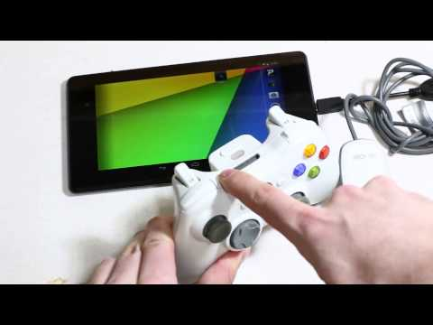 how to connect xbox 360 controller to android without otg