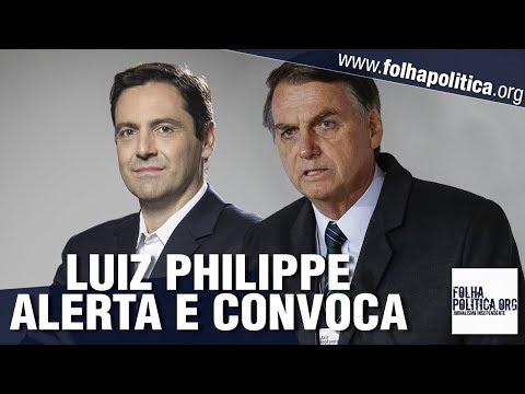 Príncipe Luiz Philippe expõe manipulações da esquerda e convoca para manifestação do dia 26 - YouTube