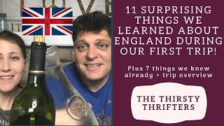 American Tourists in England | 11 Unusual Facts You've Never Heard  | British Culture
