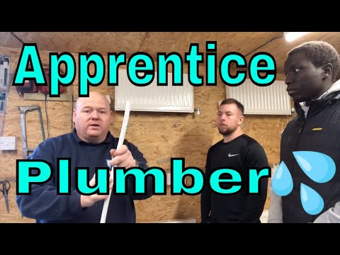 Apprentice Plumber Training - Central Heating - Day One