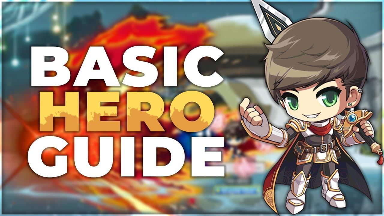 [AriesMS] Basic Hero Guide: Bossing, Mobbing, Skills [2019]
