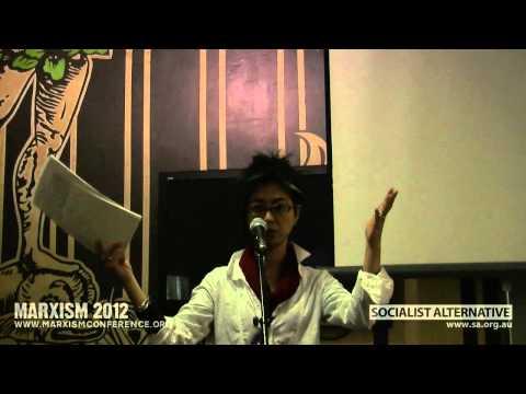 """Chie Matsumoto """"Hiroshima, Fukushima and the Japanese nuclear industry"""" @ Marxism 2012"""