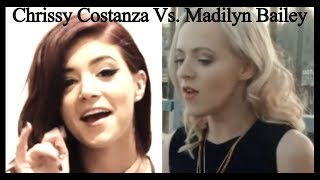 Chrissy Costanza Vs  Madilyn Bailey (See You Again)