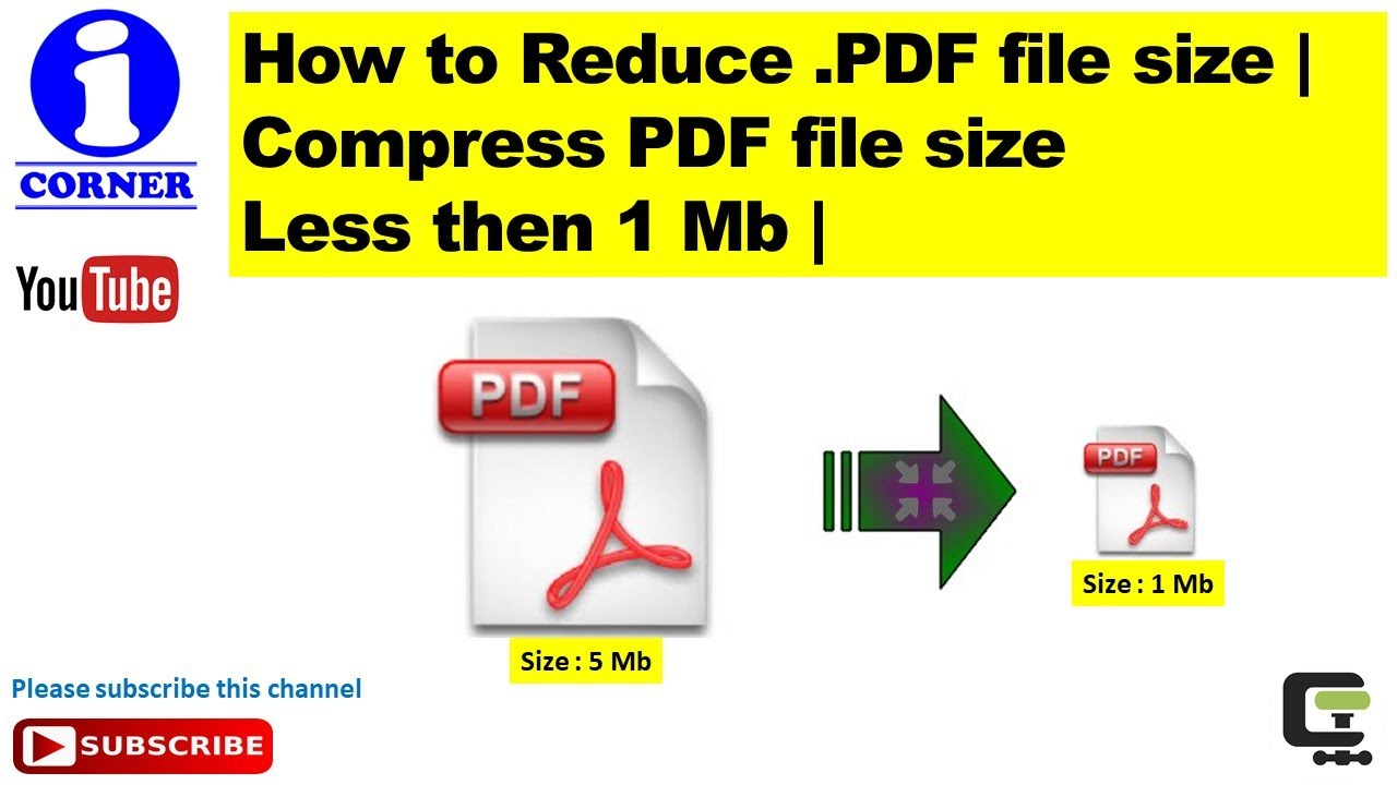 File size pdf how to reduce