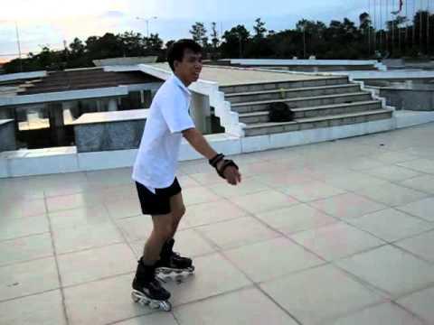 Tập tành chơi patin, thật thú vị. ^-^