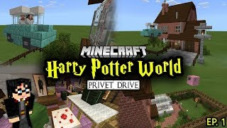 Gambar cover Building a Harry Potter Minecraft World -  Ep. 1 (Privet Drive)