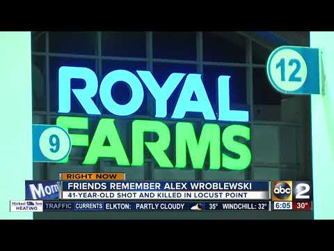 Police investigating murder behind Royal Farms in Locust Point