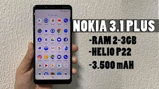 Cận cảnh Nokia 3.1 Plus -