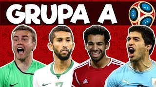 Grupa A: Rosja Arabia Saudyjska Egipt Urugwaj