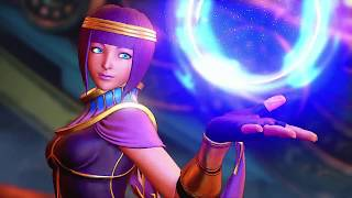 SFV: Menat Reveal Trailer