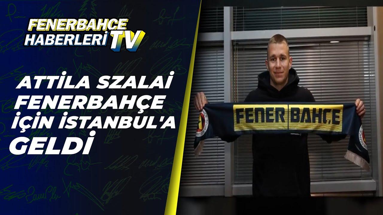 Attila Szalai Fenerbahçe İçin İstanbul'a Geldi