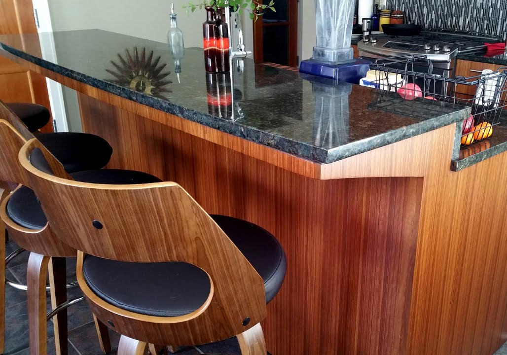 Kitchen Island With Bar Exhaust Amazing Diy Without Corbels To Support Granite
