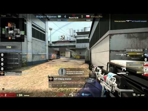 DH Winter: Nip-Gaming vs Virtus Pro Game 2