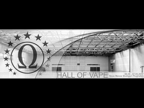 A PBusardo Video - The Hall Of Vape - Stuttgart Germany - 2017
