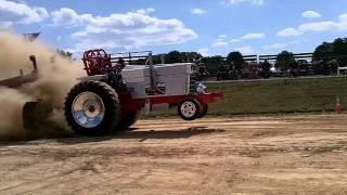 Big Block V8 Pulling tractor Smight70