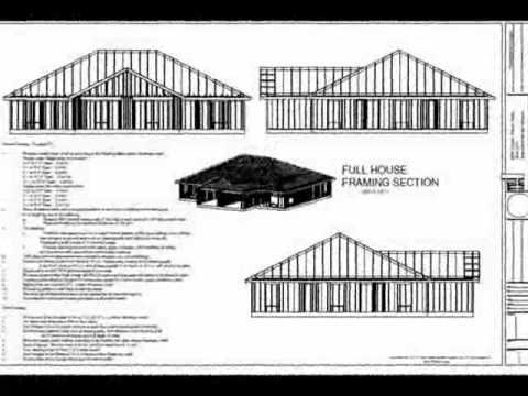 2 Bedroom Duplex Plans Blueprints Construction Documents