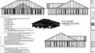 2 Bedroom Duplex Plans Blueprints Construction Documents