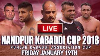 🔴 LIVE Nandpur Kabaddi Cup 2018 | Punjab Kabaddi Association Cup thumbnail