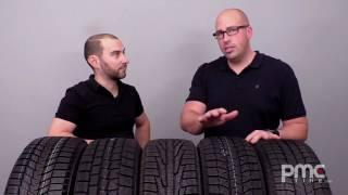 Top 5 des pneus d'hiver - 2016-2017