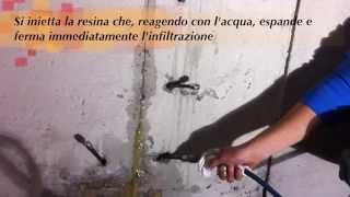 Syntech H A G : arresto immediato delle infiltrazioni d'acqua (italiano)