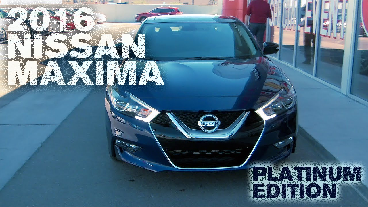 All New 2016 Nissan Maxima First Look, Sonora Nissan, Yuma AZ 85364    YouTube