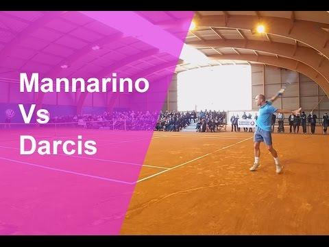 Extraits du match Darcis/Mannarino