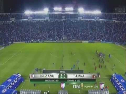 CRUZ AZUL vs XOLOS DE TIJUANA (2-0)(2-1 GLOBAL) SEMI-FINAL VUELTA CONCACAF 2014