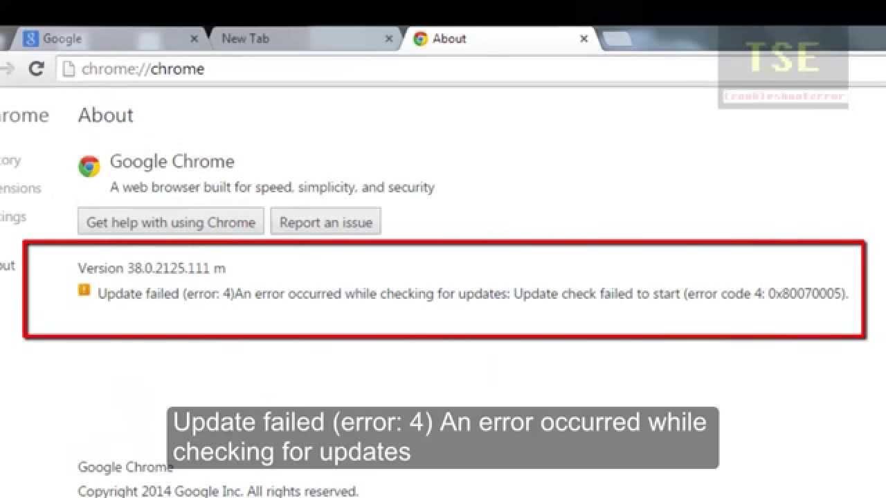 Failed Download Error Mac Chrome