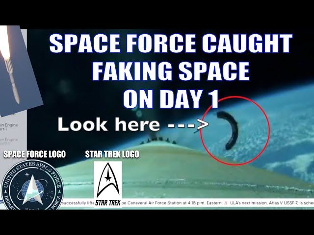 SPACE FORCE ALREADY CAUGHT FAKING SPACE