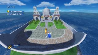 Sonic Unleashed (Wii) Apotos Windmill Isle Daytime Stages