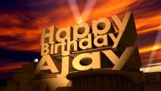 Happy BIrthday Ajay