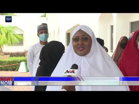 Aisha Buhari urges Nigerians to obey COVID-19 safety protocols | TV360 Nigeria