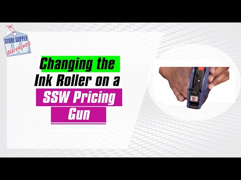 Changing The Ink Roller On The Ssw Line Labeler Gun