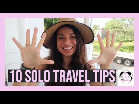 10 Safety Tips for Solo Travelers