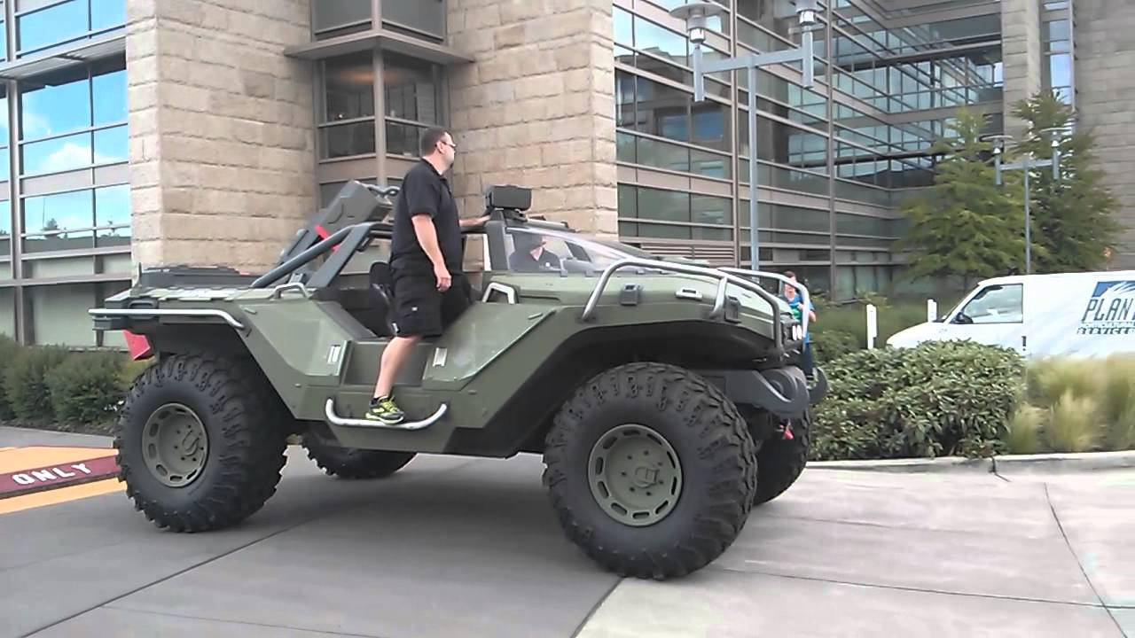 Real Life Halo Vehicles: The Warthog Is A Real, Working Vehicle