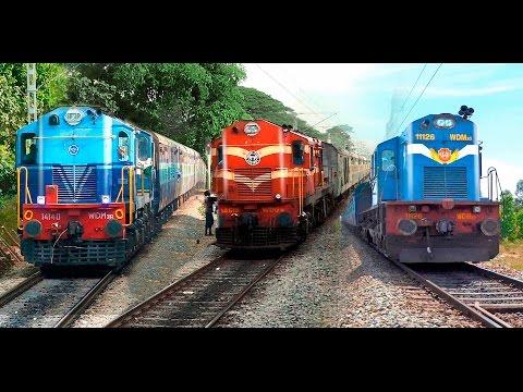 Single Line Trains & Crossings : Indian Railways