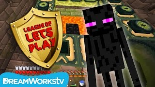 How to Get to The End in Minecraft | LEAGUE OF LET'S PLAY